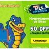 Hostgator - 50% de desconto na hospedagem de sites mais domínio grátis