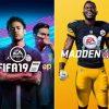 Microsoft - pacote FIFA 2019 e Madden 2019 com 70% de desconto