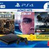 Só hoje - Console Playstation 4 Slim Hits Bundle 5 1 Tera mais Três Jogos em oferta na Saraiva