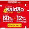 Americanas - O maior saldão do Brasil - até 60% de desconto + 12% à vista