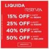 Zattini - Liquida Reserva com cupom de desconto progressivo grátis de até 50% acima de R$ 1000,00