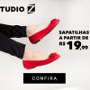 Studio Z - oferta da loja - sapatilhas a partir de R$ 19,99