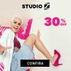 Studio Z - seleção de calçados femininos com cupom de descontos grátis de 30%