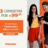 Chico Rei - Três camisetas por R$ 99,90 - 2020