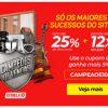 Estrela 10 - Campeões de Venda com até 25% de desconto + 5% extra