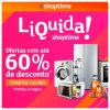 Shoptime - Liquida com cupom de descontos grátis de até 60%