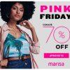 Marisa - Pink Friday com até 70% de desconto + 20% de desconto extra