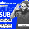 Submarino - Subday - até 40% de desconto + 15% de desconto em 1X no cartão