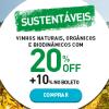 Chez France - vinhos sustentáveis - 20% de desconto + 10% extra no boleto