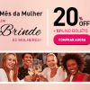 Anúncio ChezFrance - mês da mulher