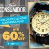 Eclock - semana do consumidor - relógios com até 60% de desconto