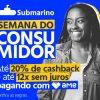 Submario - Semana do Consumidor - ate 20% de cashback e até 12X sem juros com AME