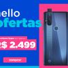 Novo MotorolaOne Hyper câmera traseira 64MP em oferta da loja Motorola