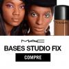 Mac - Pele perfeita - até 50% de desconto em bases Studio Fix