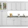 Cozinha Compacta Americana 12 PT 3 GV Branca com cupom de descontos grátis de 46% na Mobly