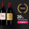 Chez France - Vinhos Premiados e Pontuados com 20% desconto + 5% de desconto extra