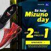 Netshoes - Mizuno Day - Leve 2 pelo preço de 1 na Netshoes