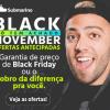 Submarino - Black November - só tem achado