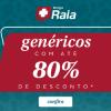 DrogaRaia - genéricos com cupom de descontos grátis de até 80%