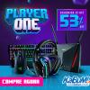Player One - periféricos com até 53% de desconto no KaBuM!