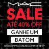 Sale - Compre acima de R$ 149,00, ganhe batom + até 40% de desconto + Frete Grátis na MAC