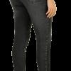 Calça Jeans Skinny Feminina Cinto Strass Biotipo com cupom de descontos grátis na Marisa