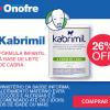 Fórmula Infantil Kabrimil à base de leite de cabra com 26% de desconto na Drogaria Onofre