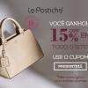 15% de desconto em todo o site na Le Postiche