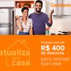 Atualiza sua casa - produtos com até R$ 400,00 de desconto na Continental
