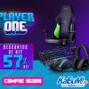 Player One - Seleção de Periféricos e Linha Gamer com até 57% de desconto no KaBuM!