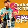 Outlet de Kits - com até 52% de desconto no Vinho Fácil