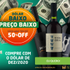 Dólar Baixo, Preço Baixo - até 50% de desconto para sócios no Wine
