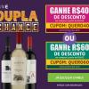 Dupla Change ganhe R$ 40 ou R$ 60 de desconto na Wine