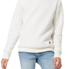 Blusão Básico Infantil Menina Matelassê Hering Kids off white com cupom de descontos grátis de 20% na Hering Kids