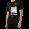 Camiseta Masculina Regular Estampa Cromia preto em Flash Sale na Hering