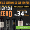 Esquenta Imposto Zero - kits em oferta da loja Wine