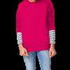Blusão Básico Infantil Em Moletom Peluciado Hering Kids rosa com cupom de descontos grátis na Hering Kids