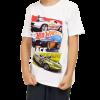 Camiseta Infantil Manga Curta Estampa Hotweels Tam 4 a 10 em leve duas por um preço na Marisa