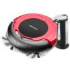 Kit Robô Aspirador Multilaser HO041 3 em 1 Bivolt com 30W e Bateria Recarregável, Vermelho Preto + Dispenser Automático UD038 de Sabão Líquido Prata em oferta da loja Webfones
