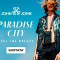 Feel The Breeze com a nova Coleção Paradise City da John John