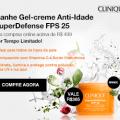 Ganhe Gel-creme Anti-idade Super Defense nas compras onlina acima de R$ 499 na Clinique