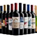 Kit com 12 vinhos em oferta da loja Evino