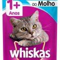 Ração Úmida Whiskas Sachê Atum ao Molho Gatos Adultos em leve 24, pague 20 na Cobasi