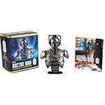 Livro – Doctor Who: Cyberman Bust and Illustrated Book (Entregue por Shoptime)