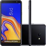 """Smartphone Samsung Galaxy J4 Core 16GB Nano Chip Android Tela 6"""" Quad-Core 1.4GHz  4G Câmera 8MP – Preto (Entregue por Americanas)"""