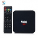 Caixa de TV inteligente V88 quad – core 1GB 8GB Android 6.0 HD – Preto ( nos ligamos ) – IMPORTADO