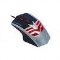Mouse Gamer K – mex Mo – x235 Usb 6 Botoes Preto E Prata Led
