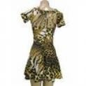 Vestido Periquete Animal Sprint Bojo; Renda; suplex Novidade