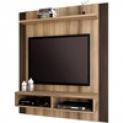 Painel para TV em MDF e MDP – Linea Brasil Capri Capuccino Wood / Ébano Linea Brasil 36962