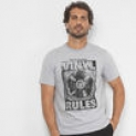 Camiseta Burn Vinyl Rules Masculina – Masculino – Cinza